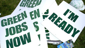 Green Jobs Now March and Rally