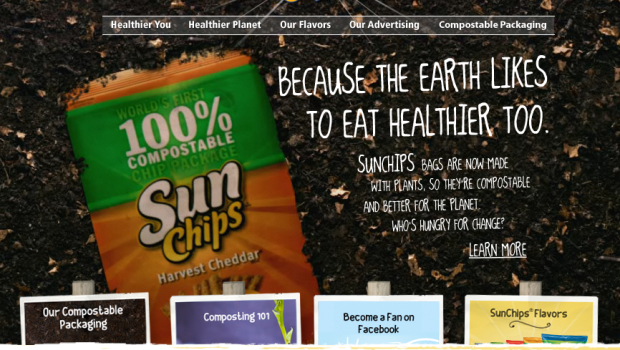 SunChips compostable