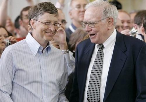 Gates and Buffett 2