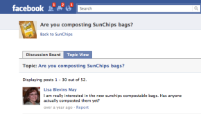SunChips FB Page