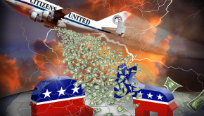 Citizens United by DonkeyHotey