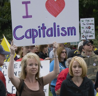 capitalism free market proponent