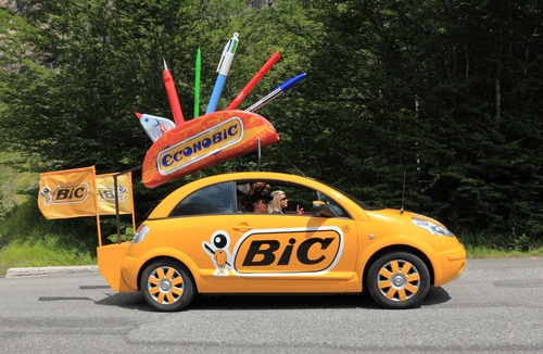 Bic car in Beost, France shutterstock_106006013
