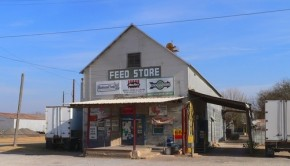 Texas old feed store shutterstock_791190