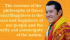 Bhutan's Gross National Happiness: a Model for other countries?