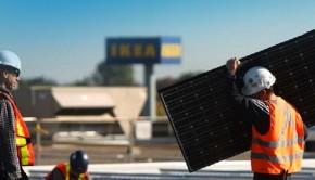 IKEA solar panel