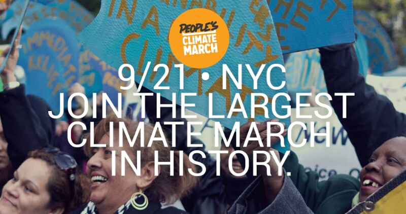 peoples climate march in new york