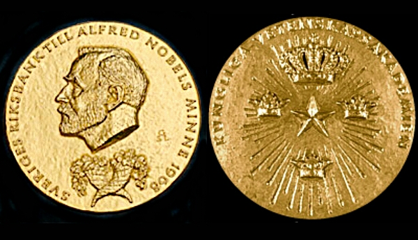 nobel prize medal for economics