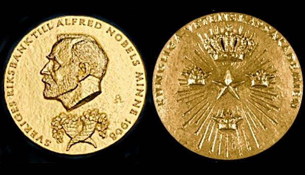 nobel prize medal for economics
