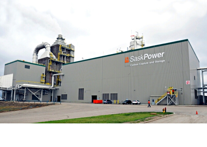 Canada's SaskPower Boundary Dam coal-fired power plant is retrofitted for Carbon Capture and Storage. Credit: SaskPower