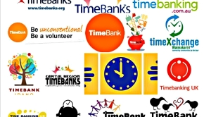 timebanking logos screencap from googlesearch