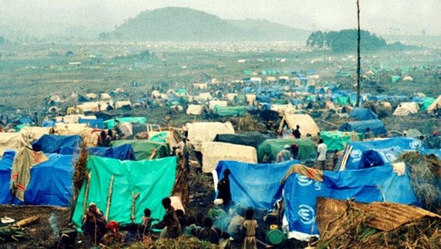 un refugees camp in drc wikicommons