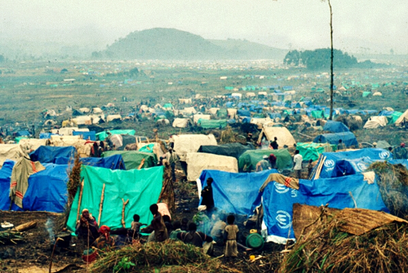 UNHRC Refugee camp in DRC receive cash instead of food from WFP