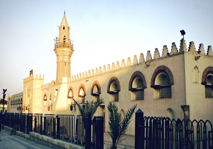 egypt mosque of amr ibn al as flickr