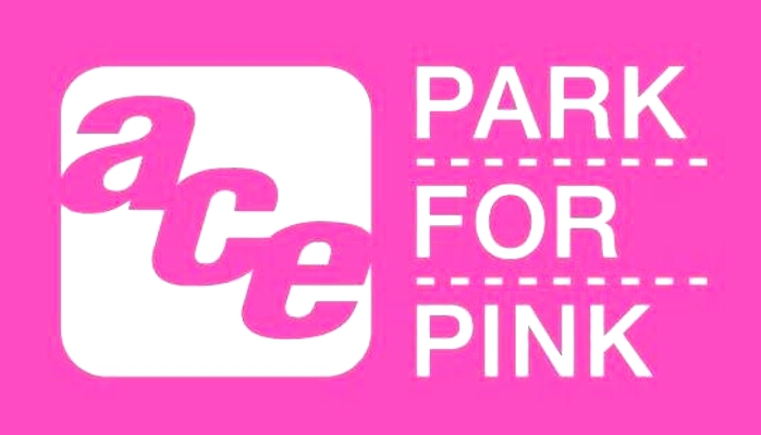 keith jones ace parking park for pink logo
