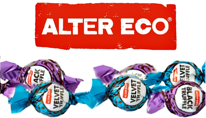 chocolate truffles by alter eco foods