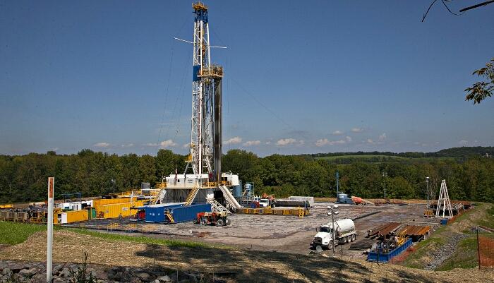 fracking rig from gettysburg edu