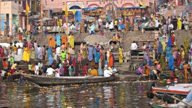 ganges river india wikicommons