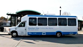 mountain view electric shuttle