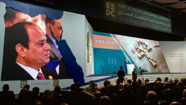 egypt president al sisi at eedc