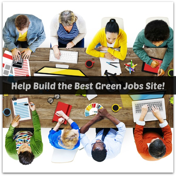 Help build the best green jobs site