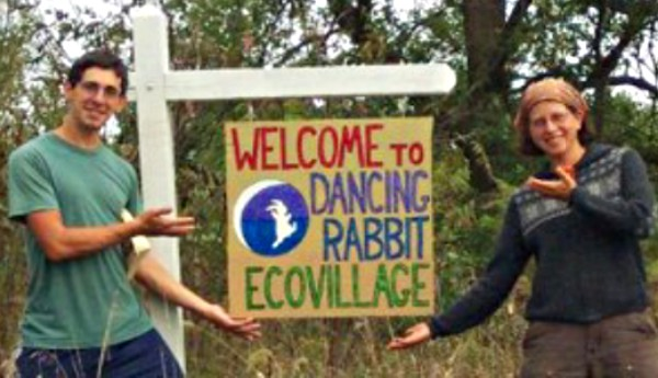 dancing rabbit ecovillage welcome sign screenshot © dancing rabbit ecovillage