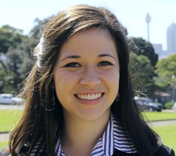 madeline greer global voices delegate from Australia